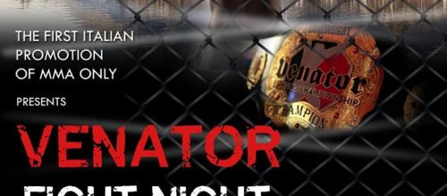 Venator Fighting Championship – Sabato 9 Marzo 2019