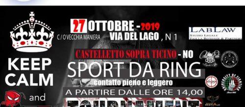 BTF 27 Ottobre 2019 Sport da Ring